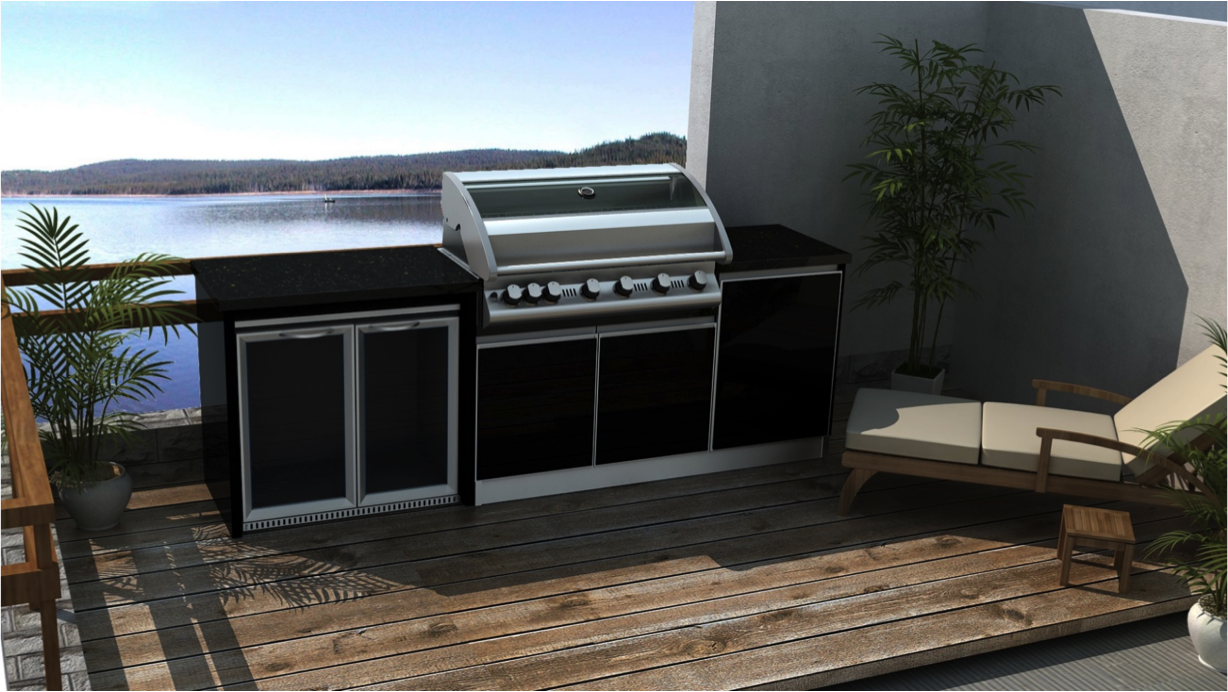 Sturt Outdoor Bbq Kitchen Package Weatherproof Kitchens